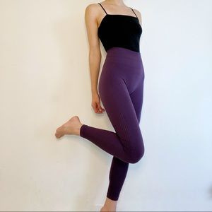 Lululemon Flow & Go 7/8 Seamless Legging Zinfandel